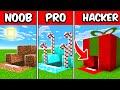 NOOB vs PRO vs HACKER Christmas Present Build Battle Challenge!