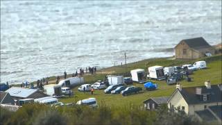 Broadchurch Final Scene filmed from Highlands End Holiday Park