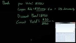 Bonds - Par Value and more