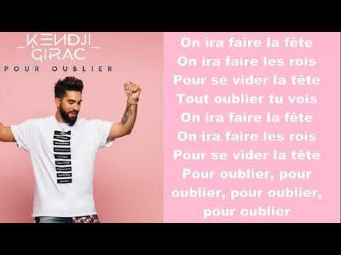 Kendji Girac ~ Pour Oublier ~ Lyrics