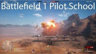 Battlefield 1  Pilot School - Plane Tips
