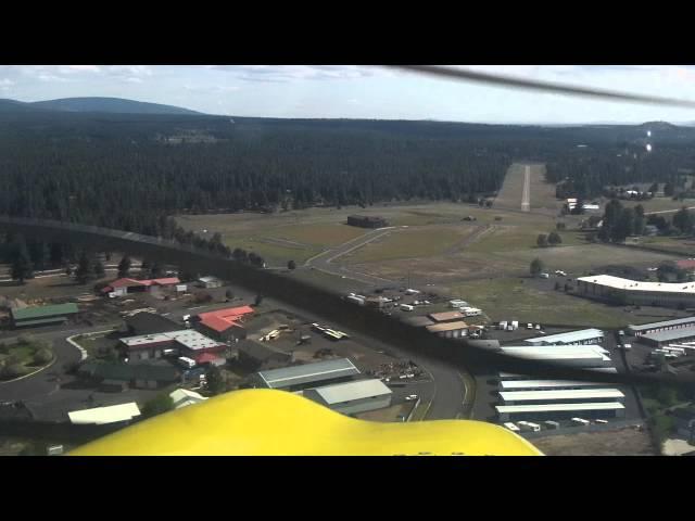 Landing at Sisters Airport (6K5)