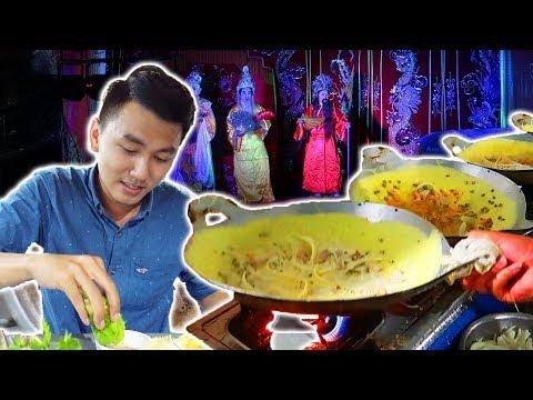 Xem lễ hội đặc biệt của người Hoa. Ăn uống ở Bạc Liêu phần 2