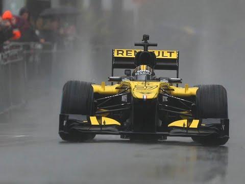 Renault Sport F1 Team en démonstration à Nice