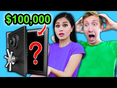 $100,000 ABANDONED SAFE Mystery Box Unboxing Challenge Haul ft. Chad Wild Clay