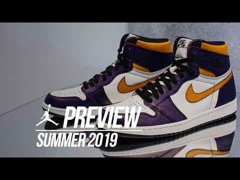Every Air Jordan Releasing In Summer 2019 YouTube