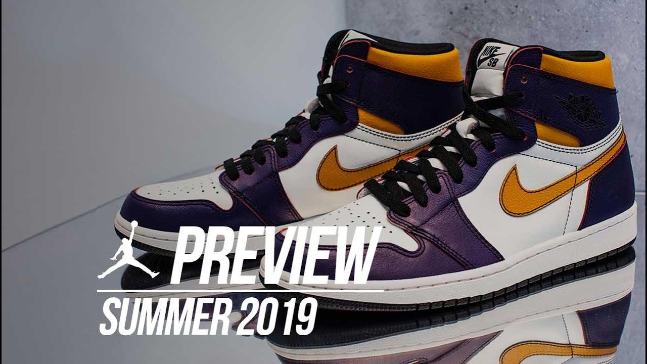1c294389510 Every Air Jordan Releasing In Summer 2019 - YouTube