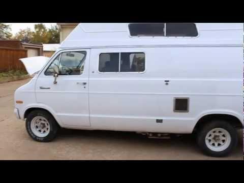 1973 Dodge Tradesman Camper Van