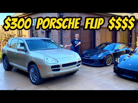 Driving My FIXED $300 Porsche Cayenne S, Then Selling For A MASSIVE PROFIT!