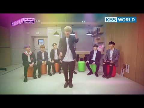 Parkjihoon Wanna one do back hug dance at K-RUSH Season 2