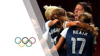USA Win Womens Football Gold - London 2012 Olympics