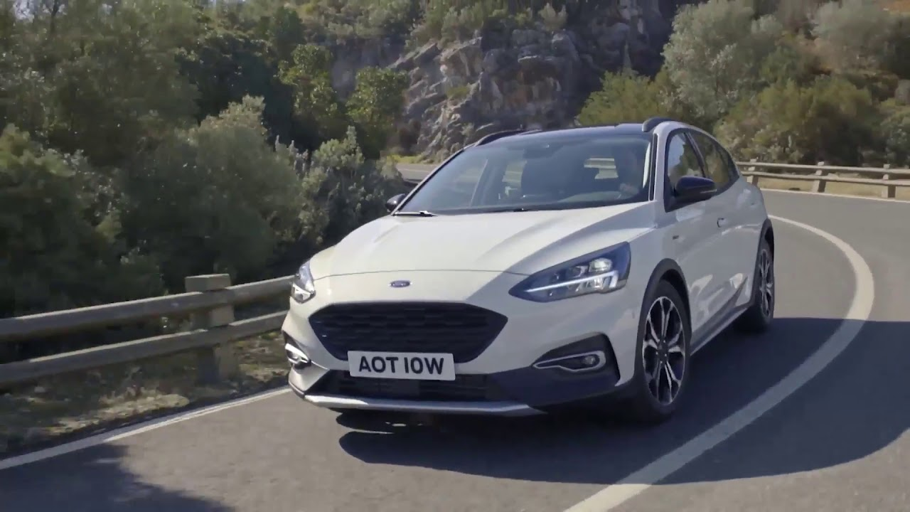 2018 Ford Focus Active Driving Video (source: youtube.com)