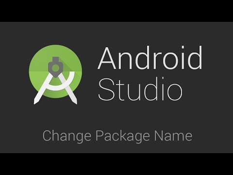 Change the package name in android studio (Working)