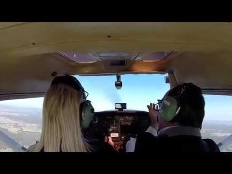 First Training Flight and Aerobatics - Newcastle Australia