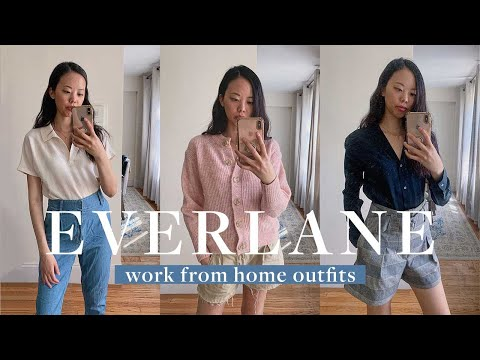 EVERLANE SALE TRY ON HAUL | Casual Spring Outfits 2020