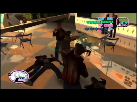 Grand Theft Auto: vice City fighting live part 2 #1