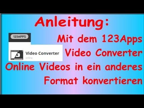 Anleitung: Per Online Video Converter Videos in andere Formate umwandeln (Deutsch)