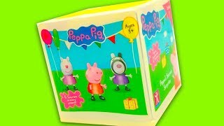 Свинка Пеппа нові сюрпризи та іграшки