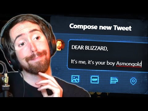 Asmongold's Message to Blizzard