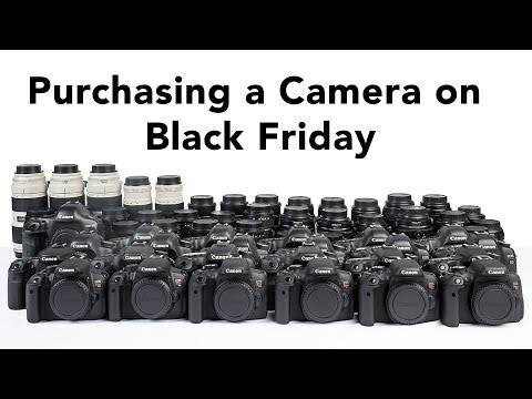 Live: Purchasing a New Camera on Black Friday