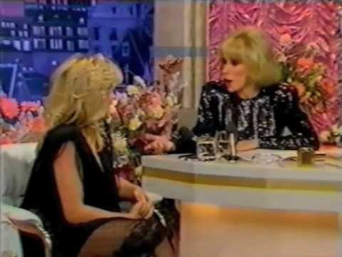 Samantha Fox Interviewed by Joan Rivers (1986)