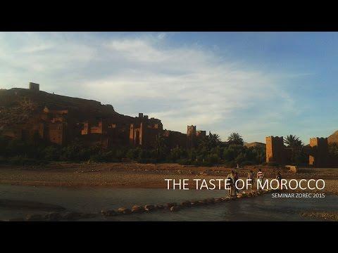 The taste of Morocco - seminar Zorec 2015