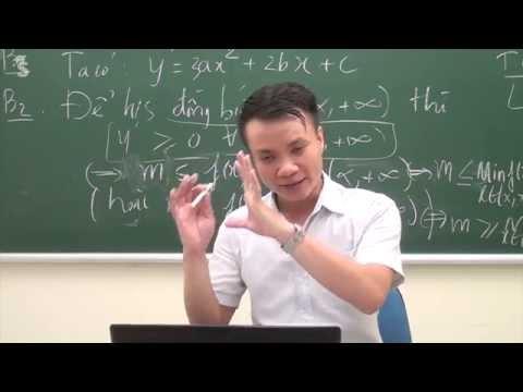 Luyện thi THPT quốc gia môn toán 2016 - Tính đơn điệu của hàm số