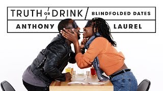 Blind(folded) Date (Anthony & Laurel) | Truth or Drink | Cut