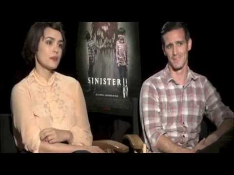 Sinister 2 (2015) Interview with Shannyn Sossamon and James Ransone
