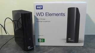 WD Elements Desktop 5TB - Unboxing & speed test