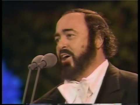 O sole mio - Luciano Pavarotti in Central Park - 1993