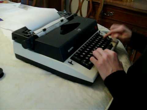 Schreibmaschinen Antike Bürotechnik Brother Deluxe 650 Tr Schreibmaschine Orange 70er Jahre Reiseschreibmachine