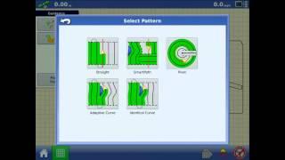 Anleitung Linien und Führung Muster auf der Ag Leader® Integra/Versa/Kompass Zeigt