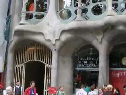 Casa Batlló Gaudi Barcelona