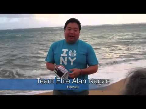 Alan Nagao  Team Elite  chia se cho lop hoc Blue Diamond University tai Hawaii