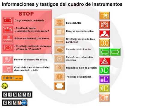 Informaciones del cuadro de instrumentos (2/3)