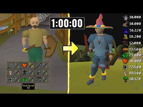 He Gained 600+ Levels on RuneScape in 1 Hour and Made 2147M GP.