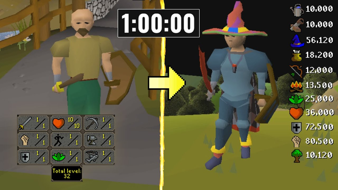 Download He Gained 600+ Levels on RuneScape in 1 Hour and Made 2147M GP.