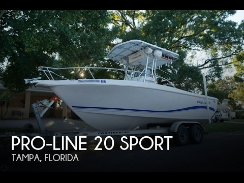 [SOLD] Used 2004 Pro-Line 20 Sport in Tampa, Florida