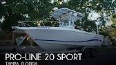2016 ProLine 20 Sport  YouTube