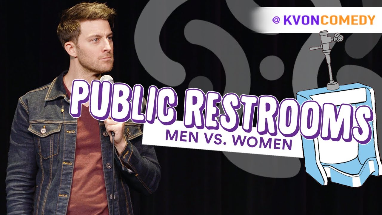 Public Restrooms - Men VS Women (...comedian K-von takes you deep inside)