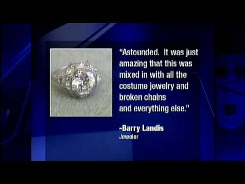 Expensive Diamond Ring Found In Goodwill Donations