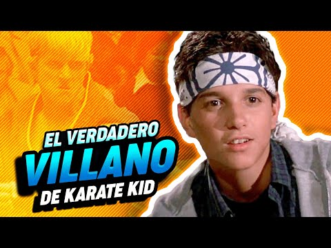 ¿Quién era el verdadero villano de 'Karate Kid'?