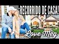 RECORRIDO DE NUESTRA NUEVA CASA VACÍA 2019 | ¡VISITA GUIADA! | Love Meg
