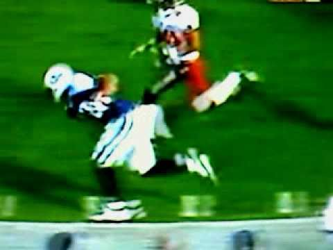 Eddie George runs over John Lynch 2003
