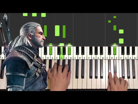 The Witcher - Toss a Coin to your Witcher (Piano Tutorial Lesson)