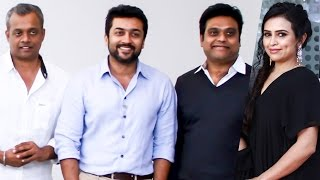 Suriya, Shankar and GVM in Harris's New Studio! | TK 33