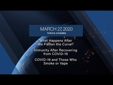 COVID-19 Update   FAQs   3/27/2020