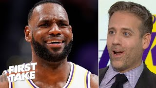 LeBron was sending a message with his egregious travel – Max Kellerman | First Take