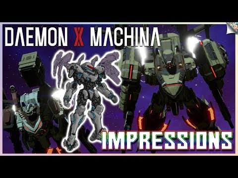 daemon-x-machina-gameplay-impressions-&-feedback-|-speed,-pace,-framerate,-graphics-&-more!